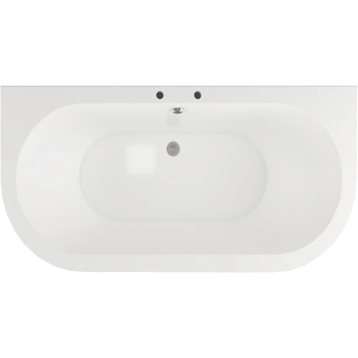 Bathrooms To Love Traditional Back To Wall Bath with Feet 1700mm x 800mm 1
