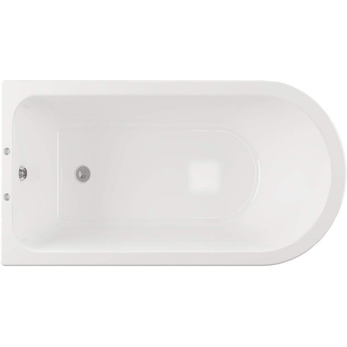 Bathrooms To Love Traditional Corner Freestanding Bath with Feet 1500mm x 750mm 2