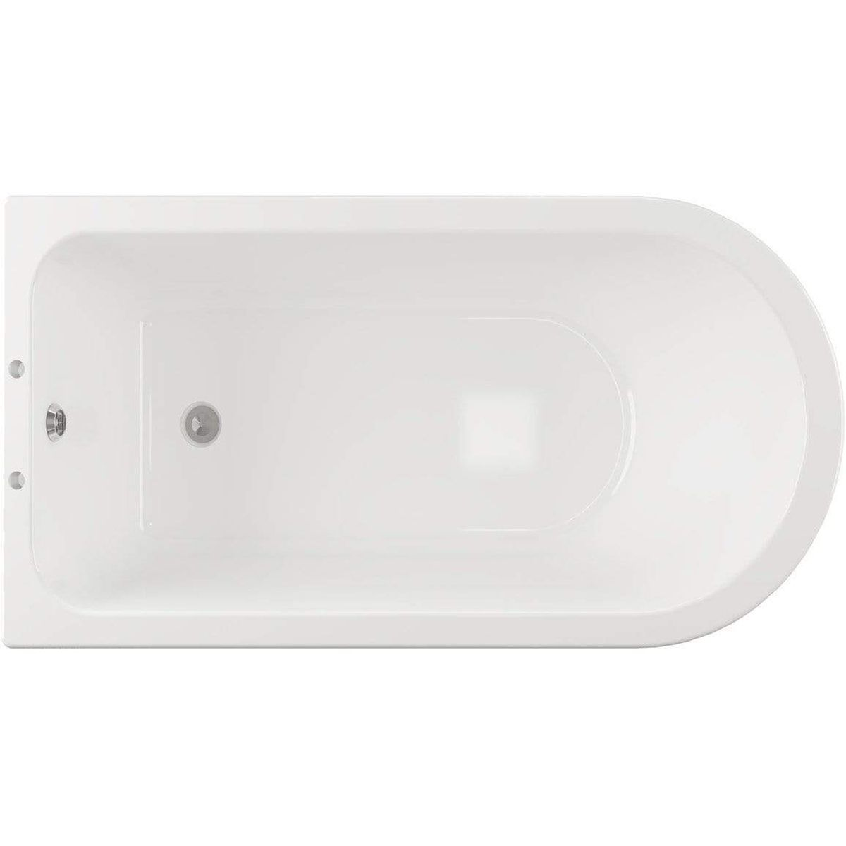 Bathrooms To Love Traditional Corner Freestanding Bath with Feet 1700mm x 750mm 2