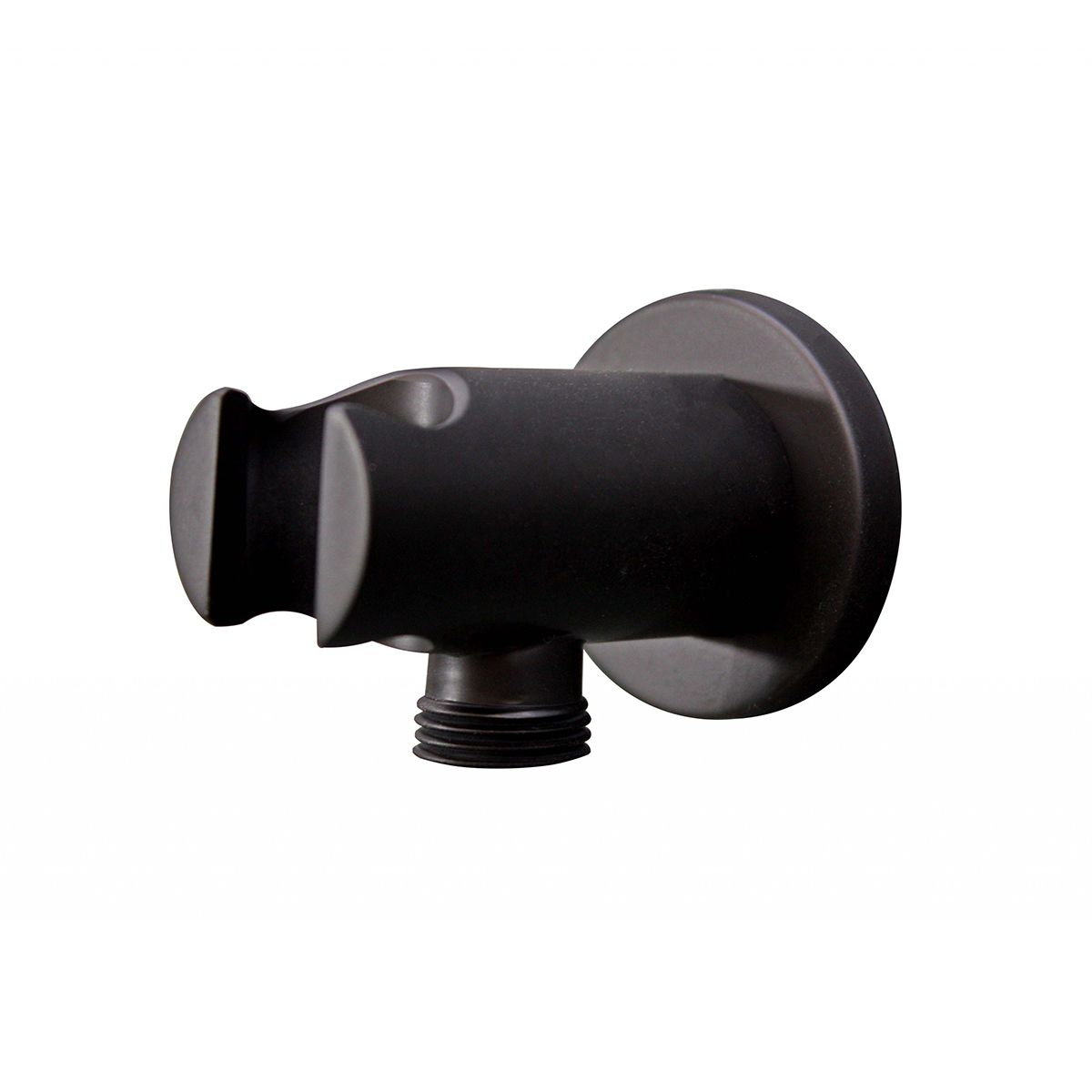 Bathrooms To Love Vema Black Handset Wall Bracket and Outlet