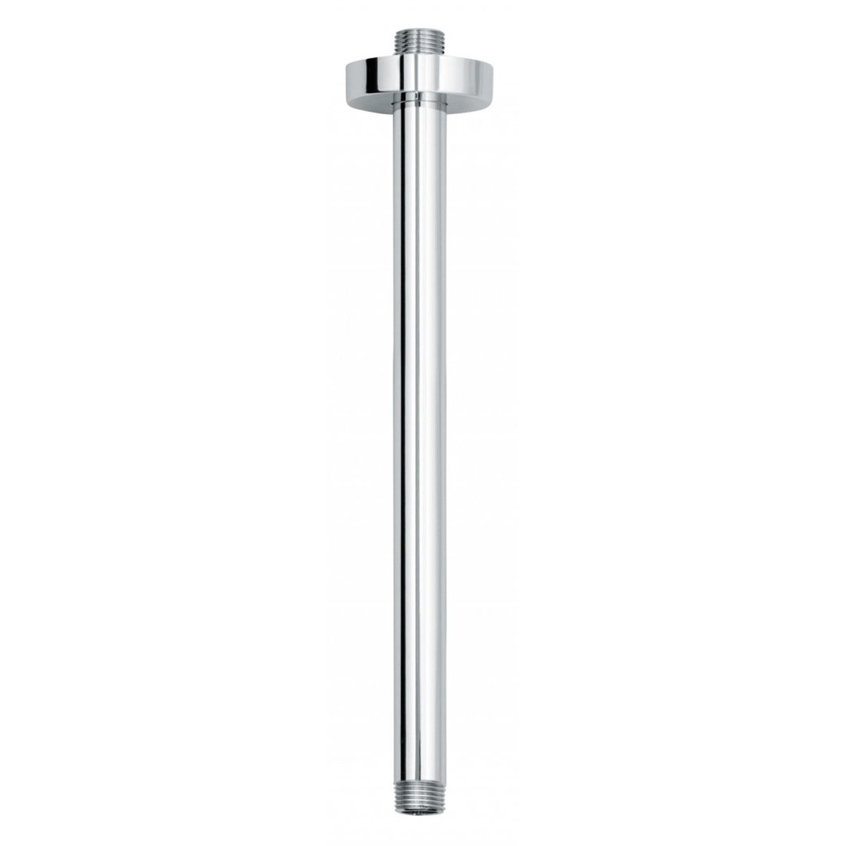 Bathrooms To Love Vema Chrome Round Ceiling Mounted Shower Arm