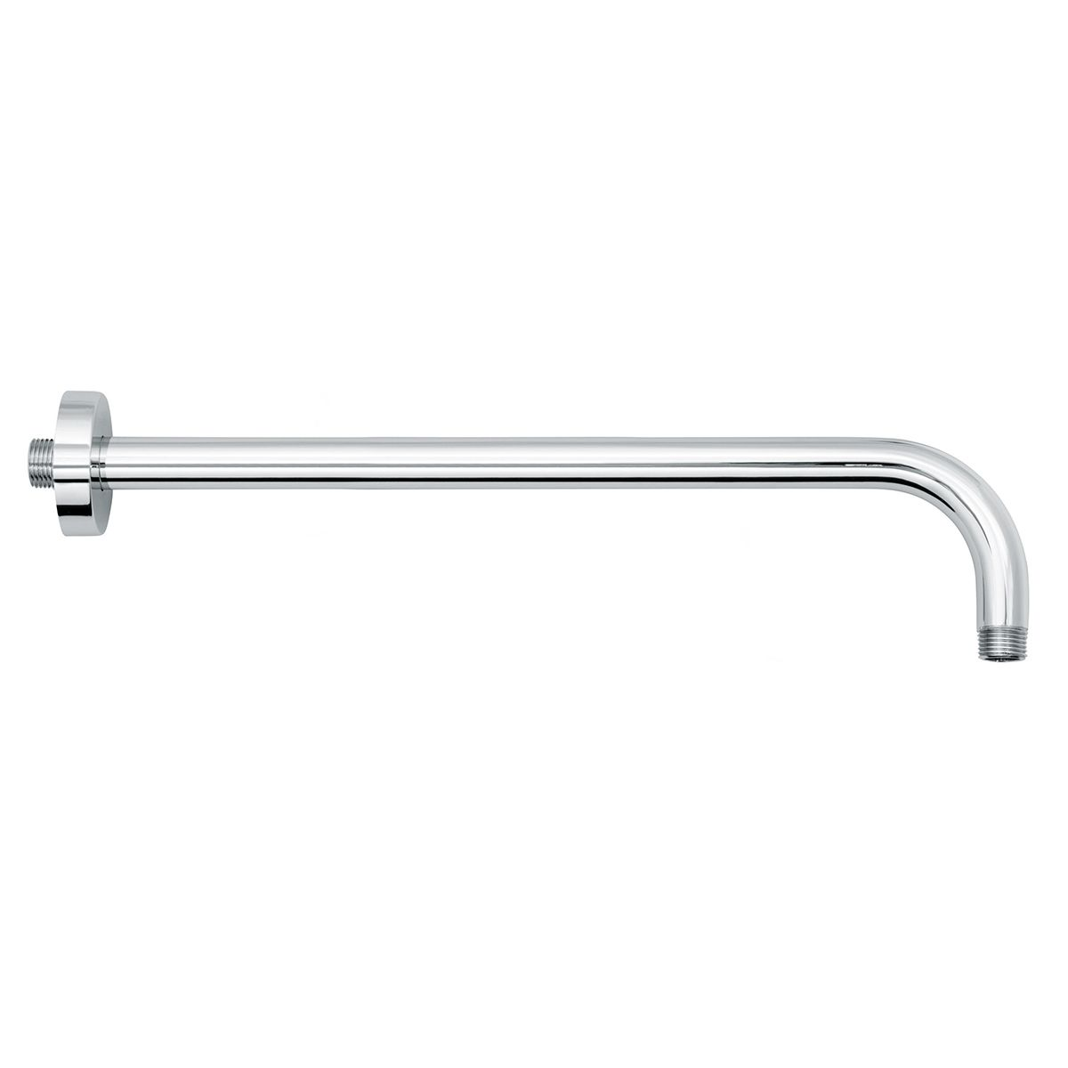 Bathrooms To Love Vema Chrome Round Wall Mounted Shower Arm 400mm