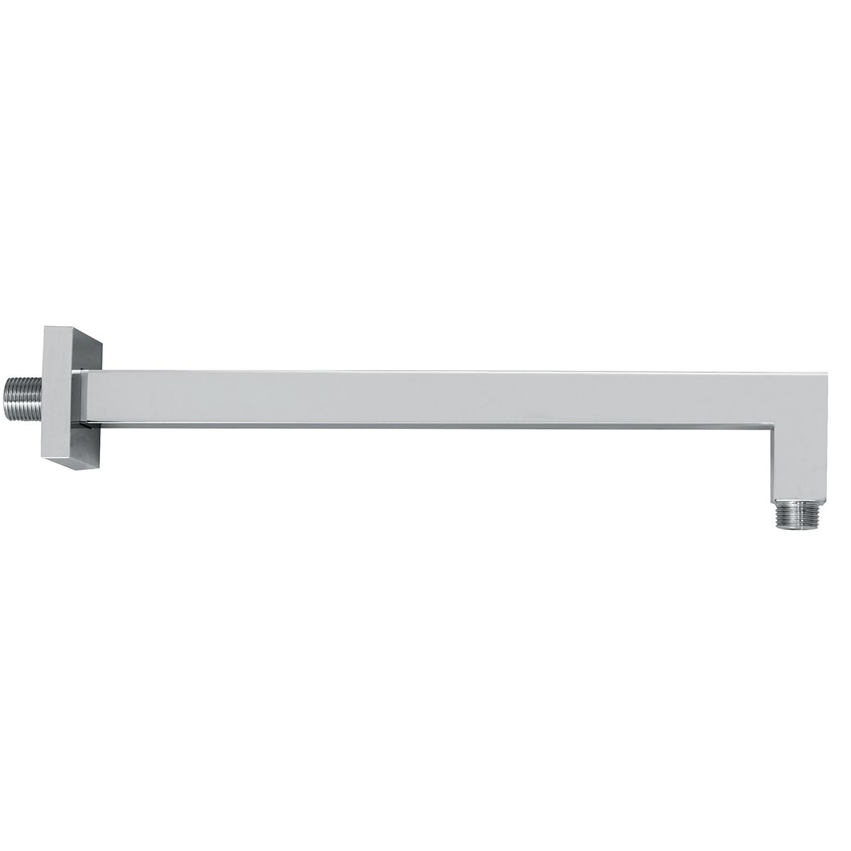 Bathrooms To Love Vema Chrome Square Wall Mounted Shower Arm 400mm
