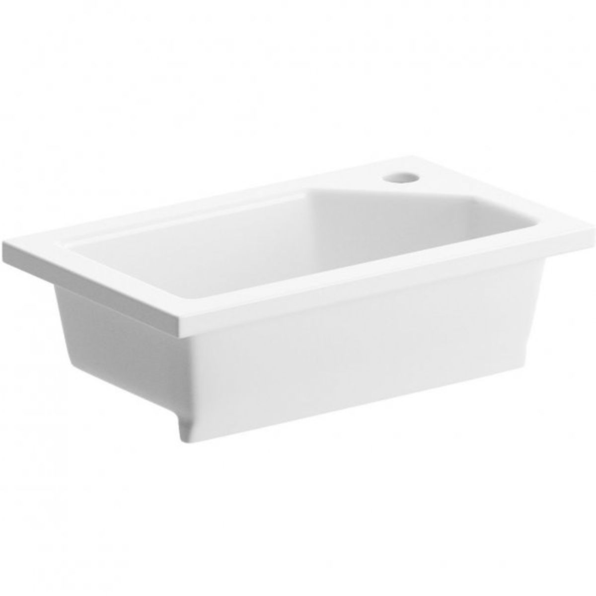 Bathrooms To Love White Compact Inset Basin 430 x 260mm
