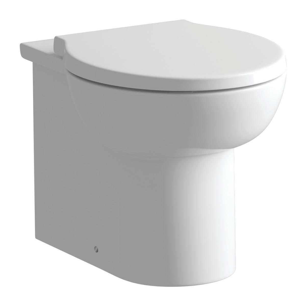 BTL Mimosa Back To Wall Toilet with Soft Close Seat