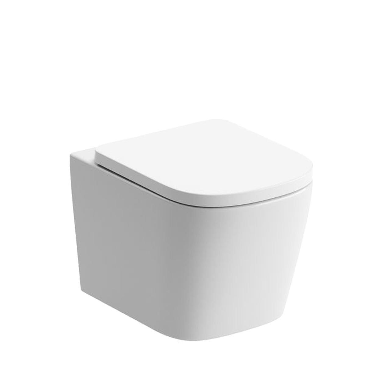 BTL Tilia Rimless Wall Mounted Toilet with Soft Close Seat
