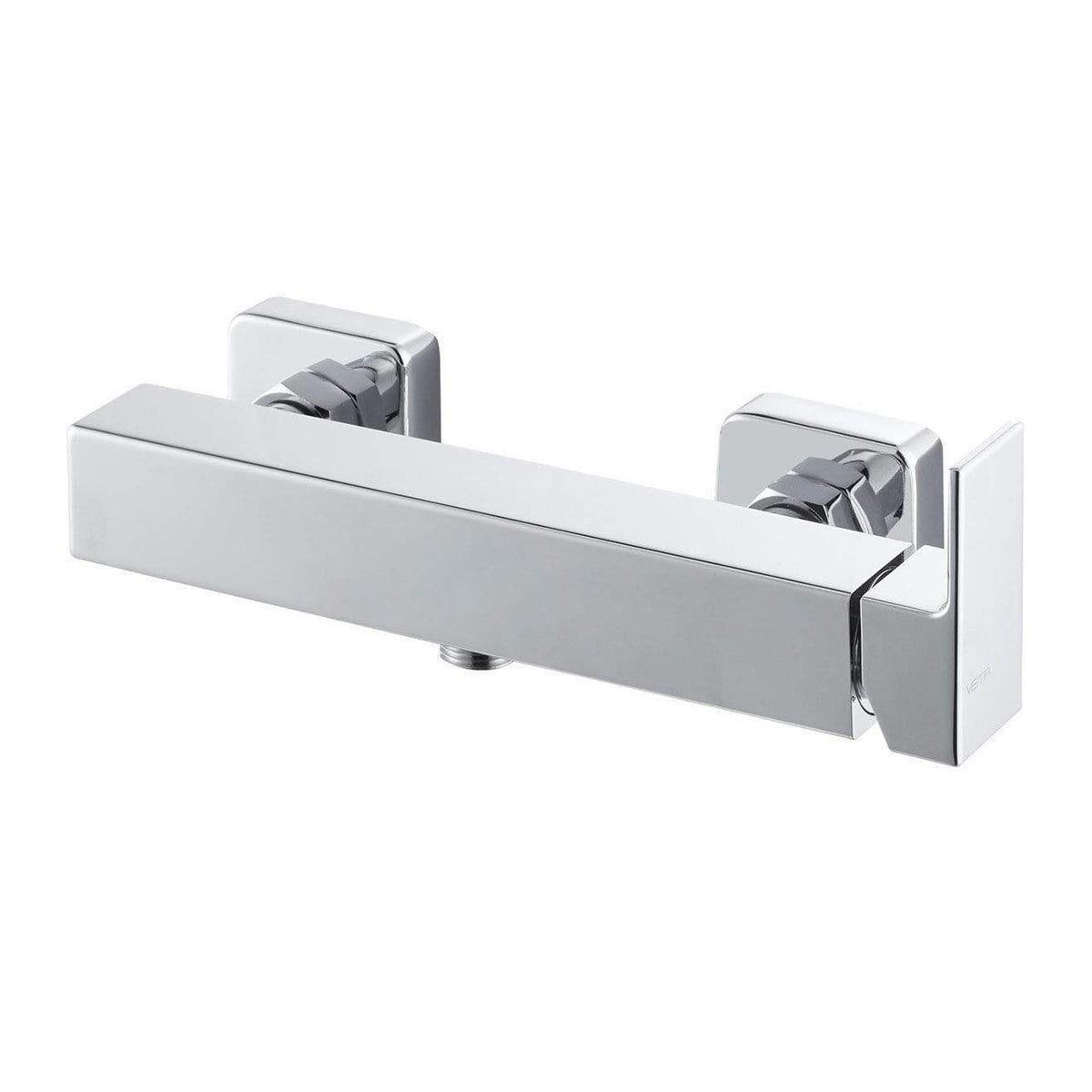 BTL Vema Lys Chrome Single Outlet Wall Mounted Shower Mixer