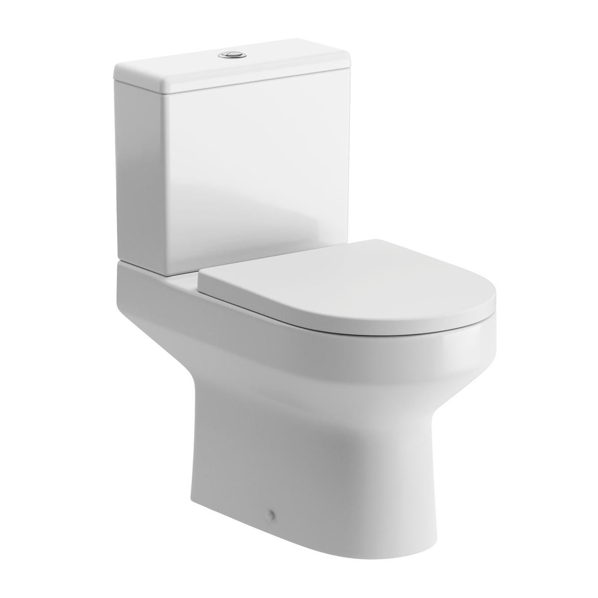BTL White Laurus² Fully Comfort Height Coupled Toilet & Soft Close Seat