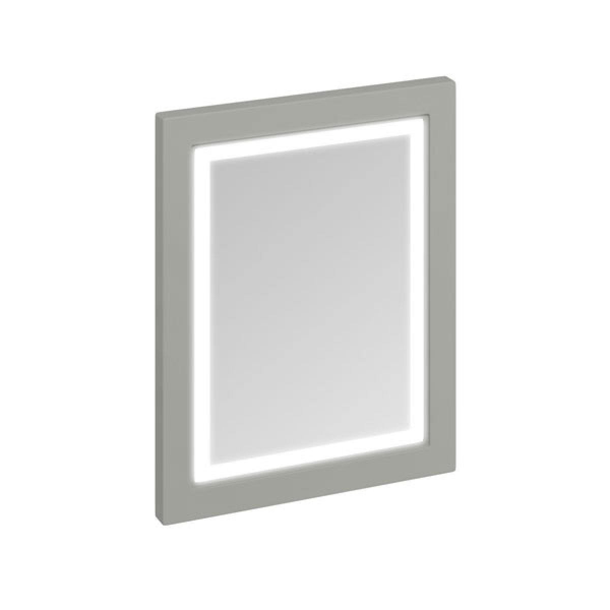 Burlington Dark Olive LED Bathroom Mirror 600mm