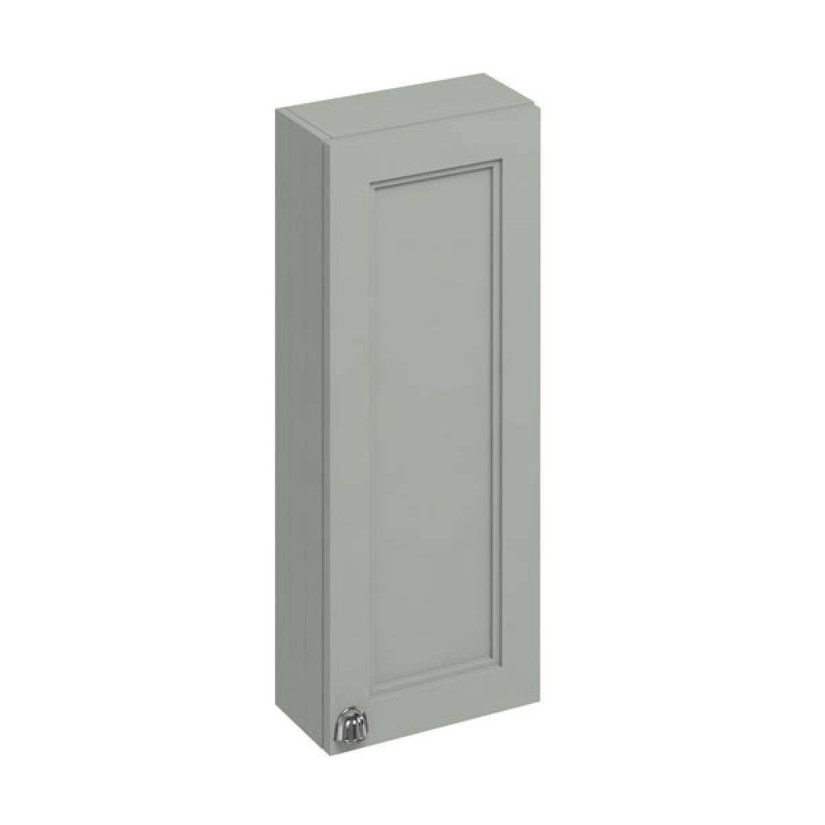 Burlington Dark Olive Single Door Wall Unit 300mm