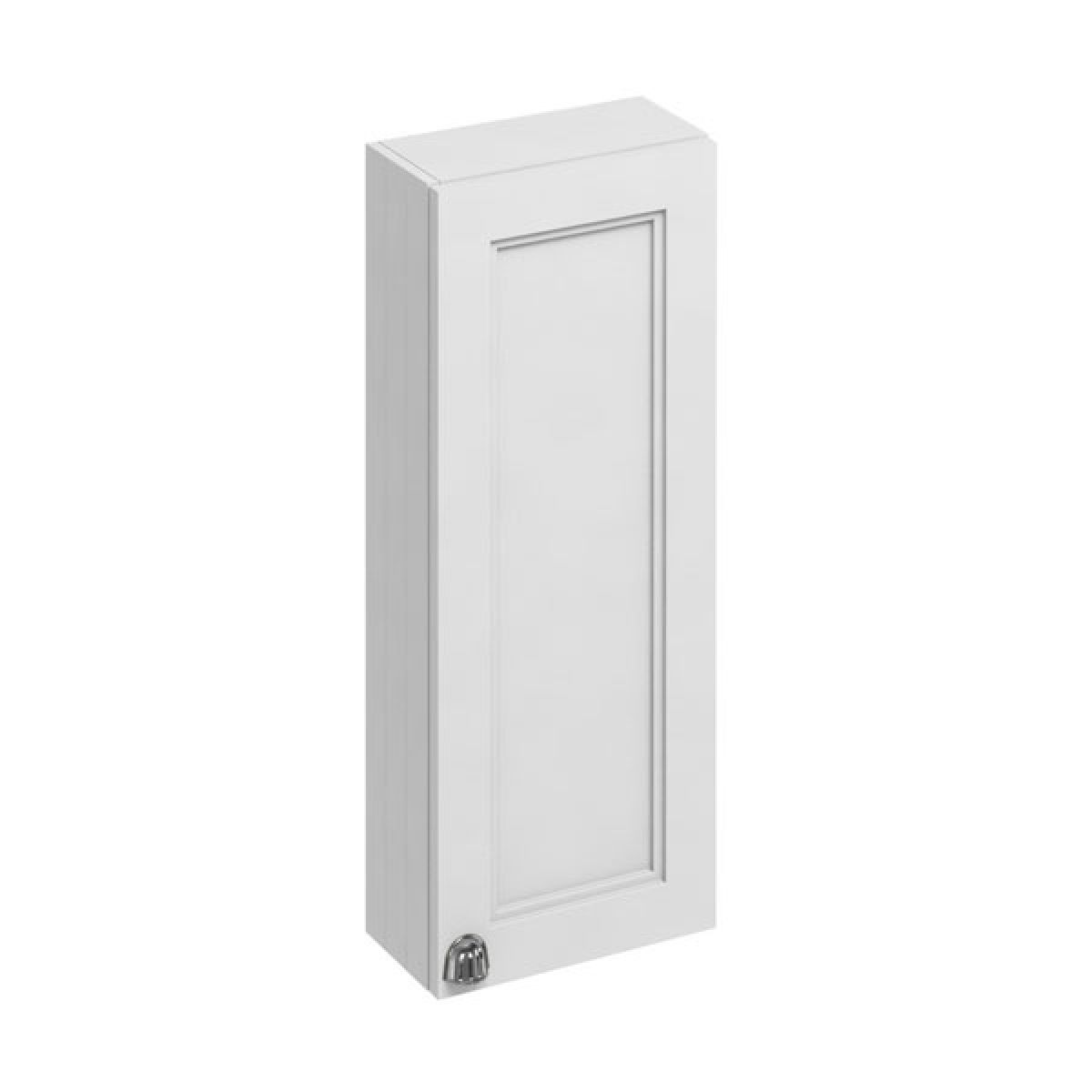Burlington Matt White Single Door Wall Unit 300mm