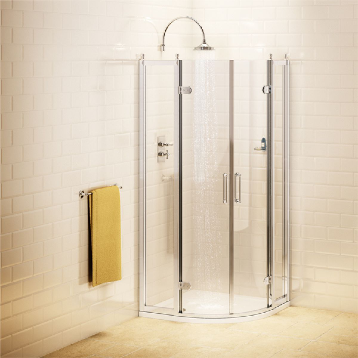 Burlington Double Door Quadrant Shower Enclosure
