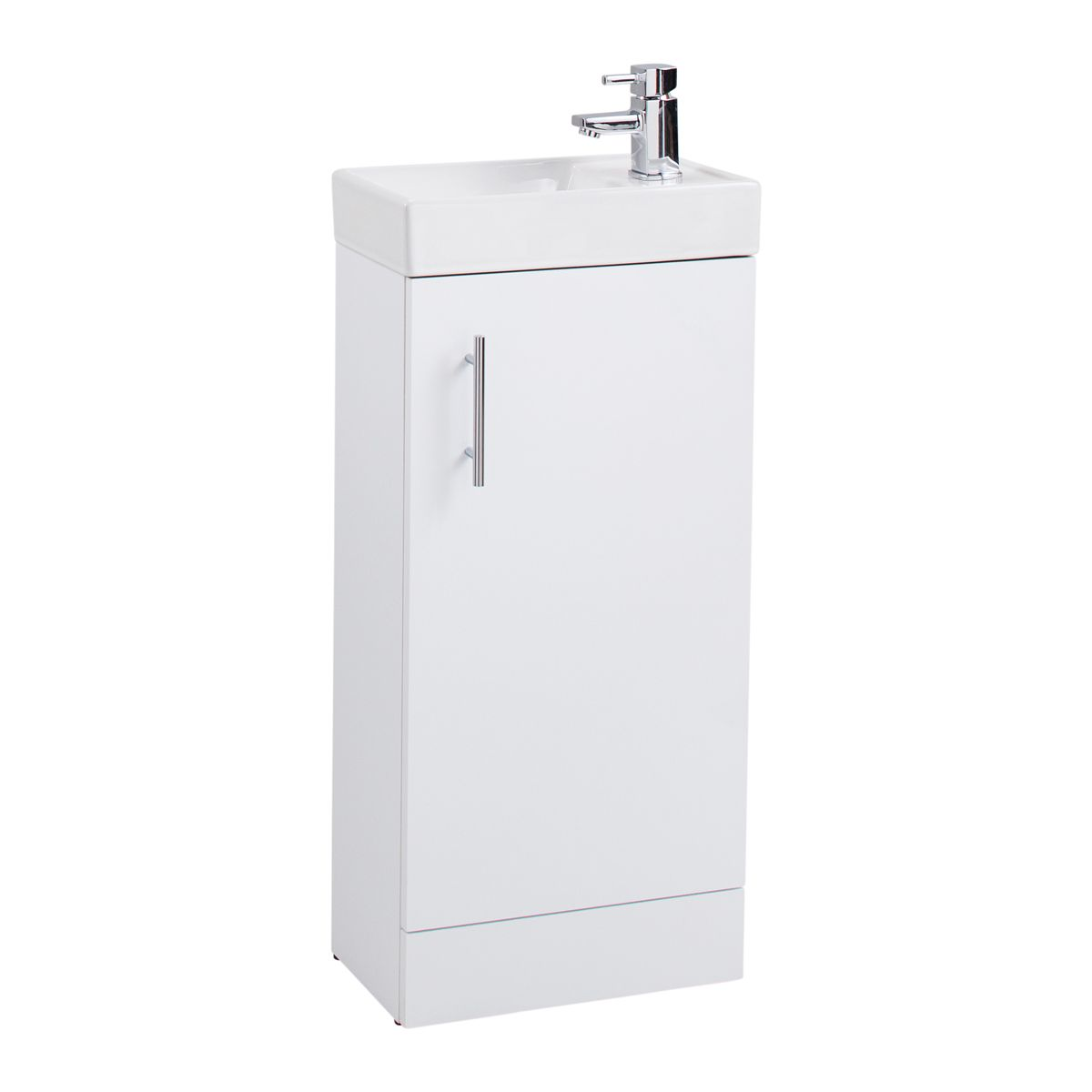 Cassellie 400 Series Gloss White Vanity Unit