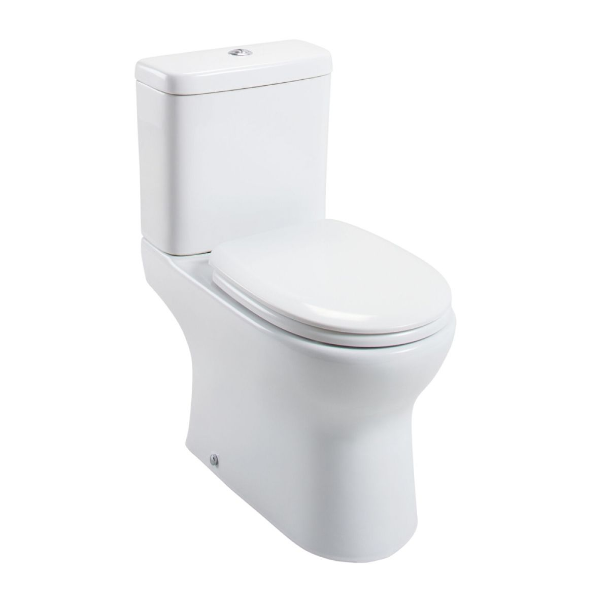 Cassellie Breeze Rimless Close Coupled Toilet
