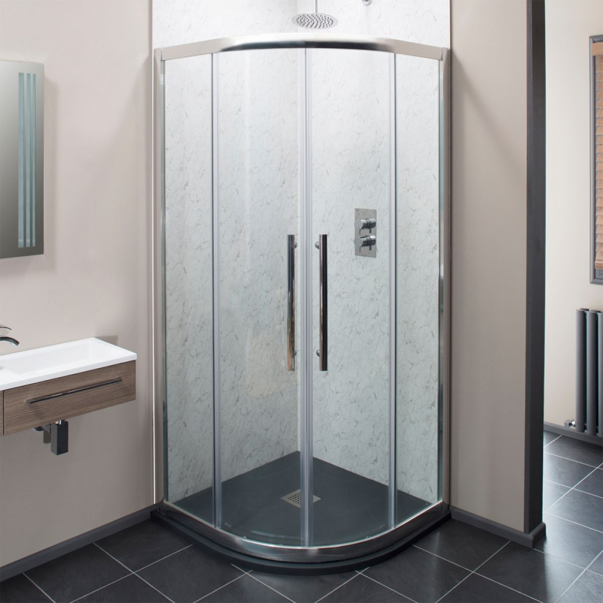 Cassellie Cass Eight Double Door Quadrant Shower Enclosure