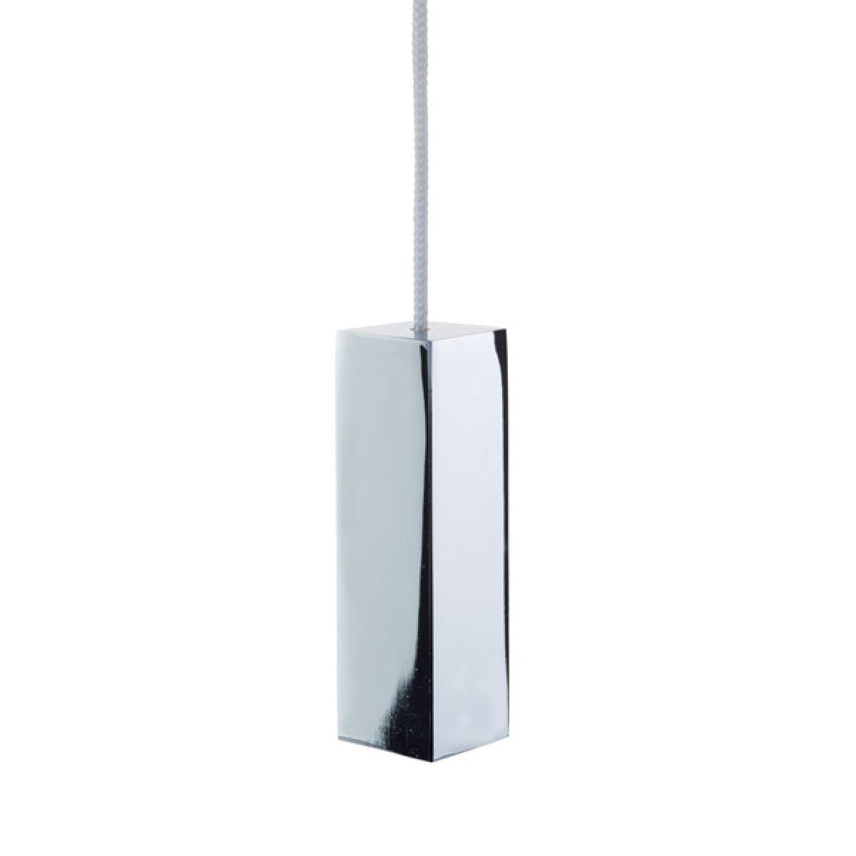 Cassellie Chrome Square Ceiling Pull Cord Switch
