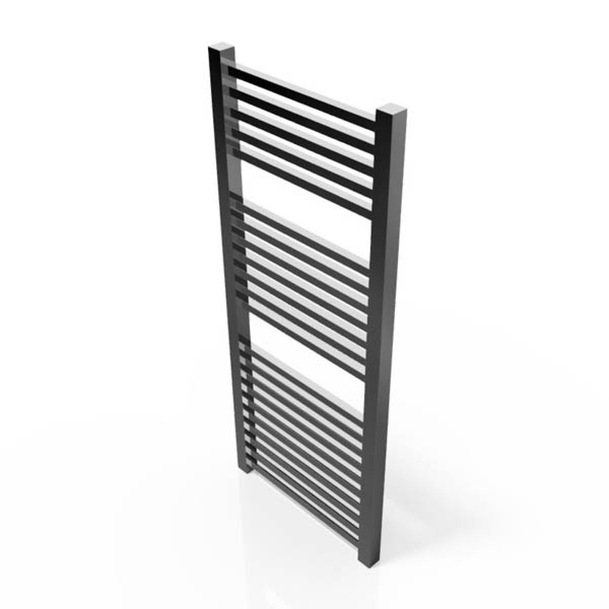 Cassellie Chrome Straight Heated Towel Rail 1200 x 500mm