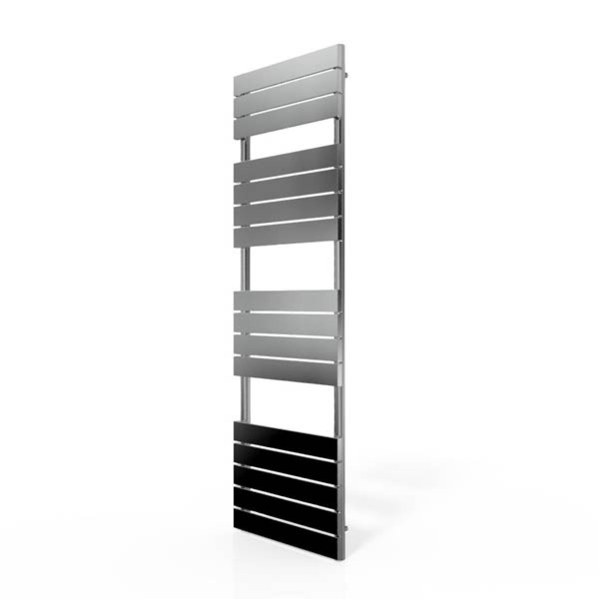 Cassellie Chrome Straight Towel Rail With Flat Profile 1600 x 500mm