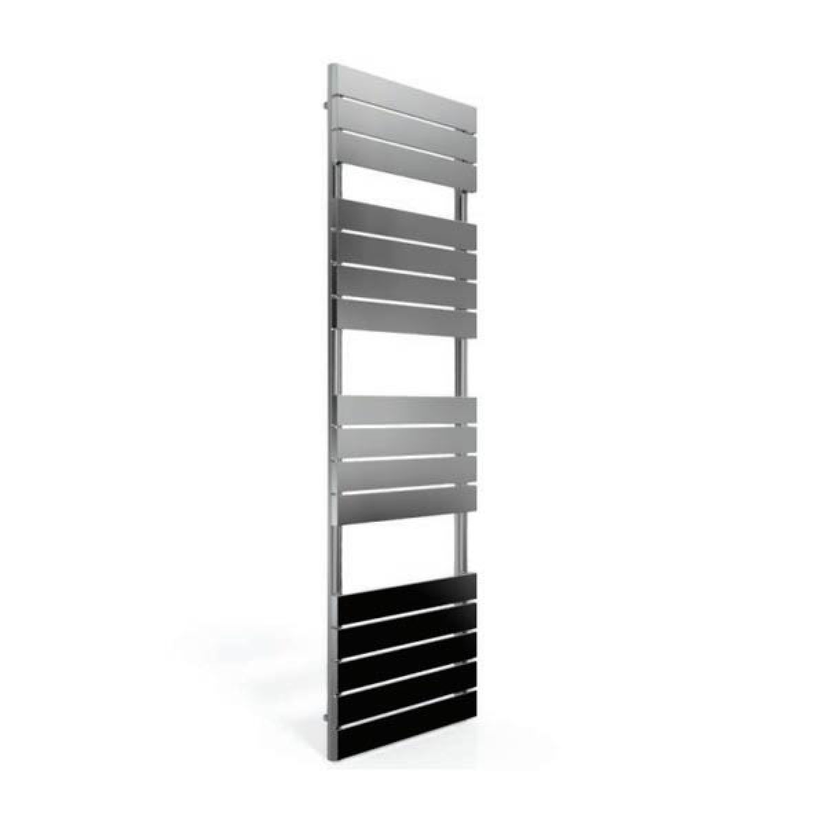 Cassellie Chrome Straight Towel Rail With Flat Profile