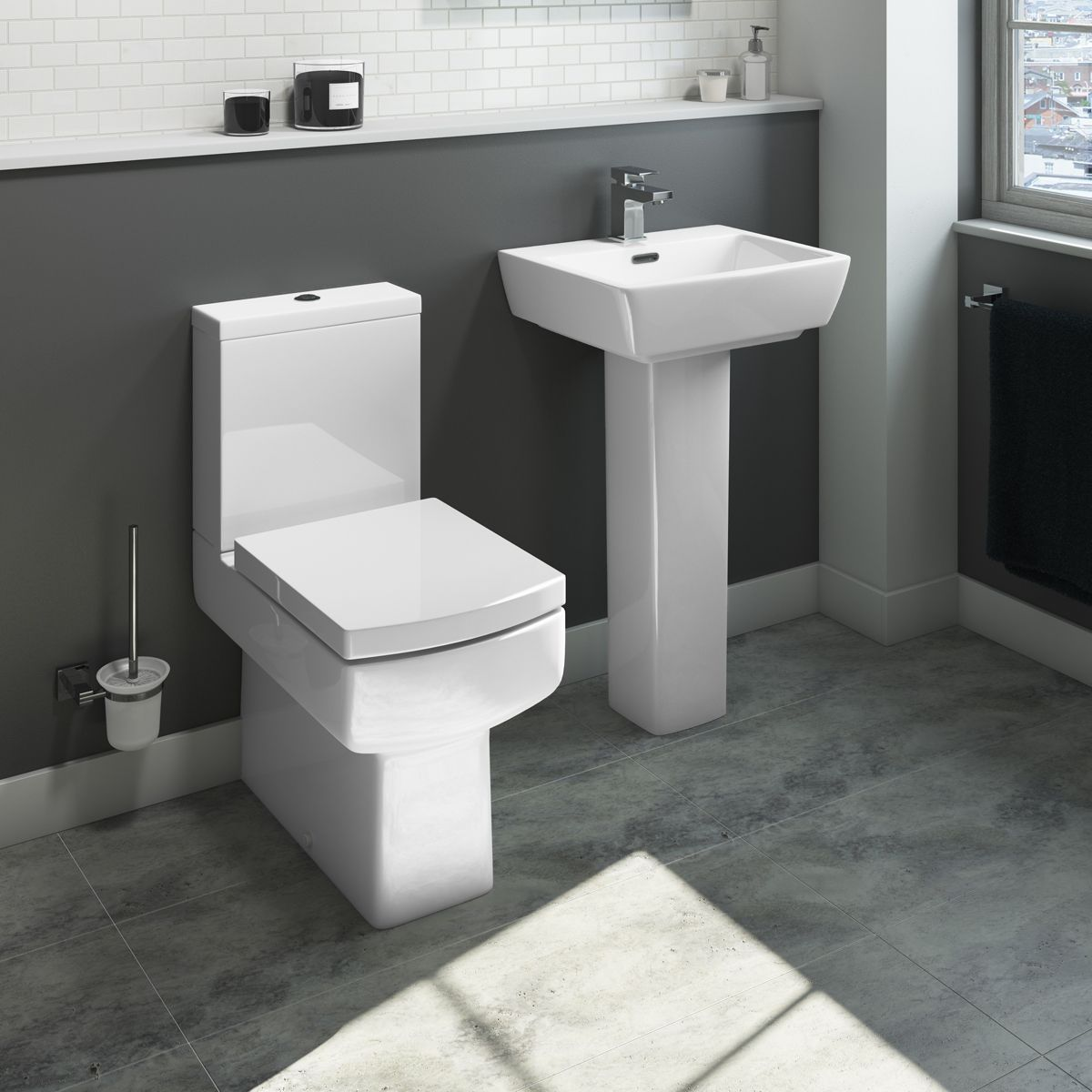 Cassellie Daisy Lou Toilet and Basin Set