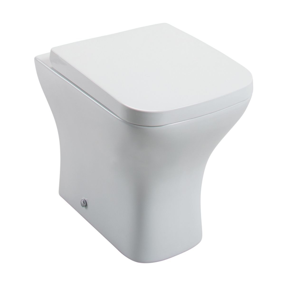 Cassellie Fair Back To Wall Toilet with Wrapover Seat