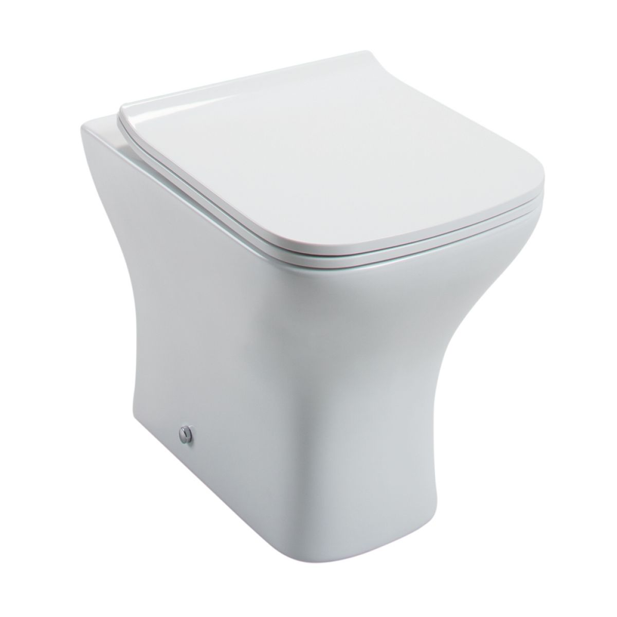 Cassellie Fair Back To Wall Toilet with Slimline Seat