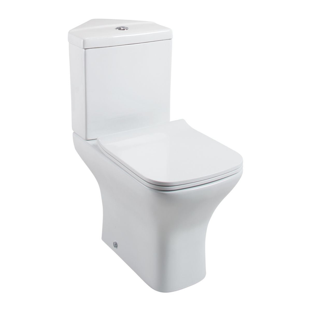 Cassellie Fair Close Coupled Corner Toilet