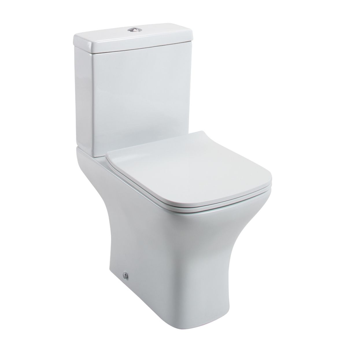 Cassellie Fair Close Coupled Toilet with Slimline Seat