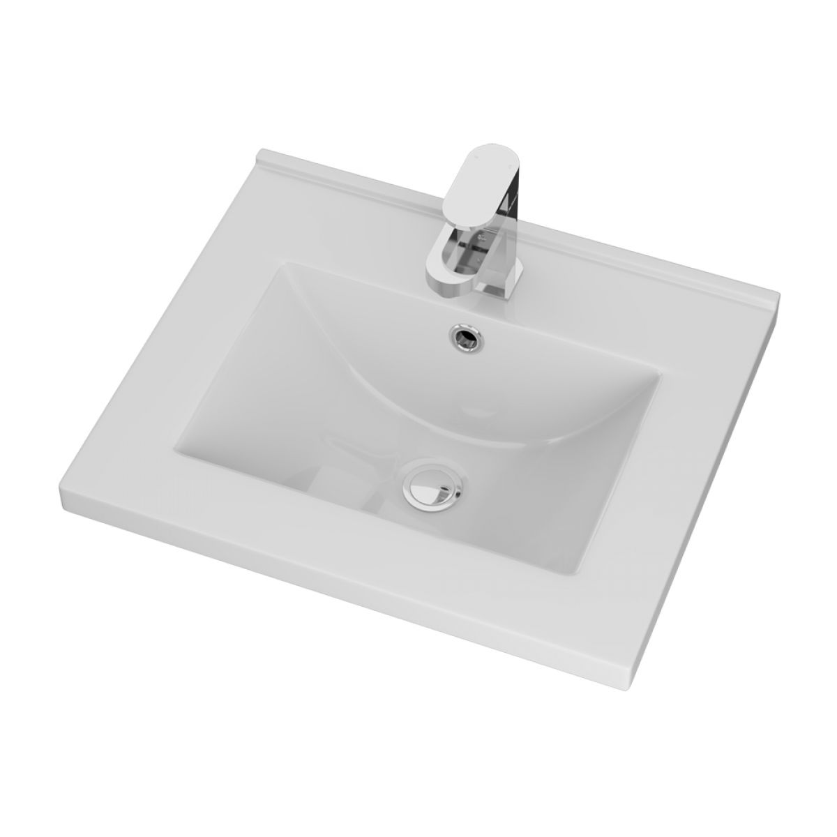 Cassellie Idon Ceramic Mid-Edge Basin 500mm