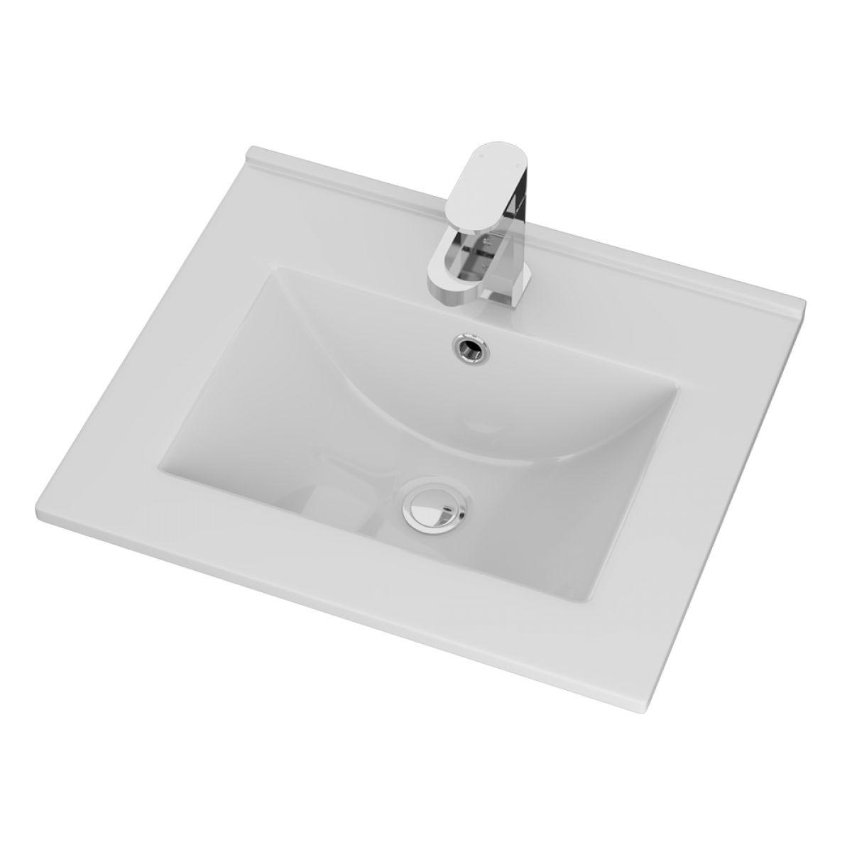 Cassellie Idon Ceramic Thin Edge Basin 500mm
