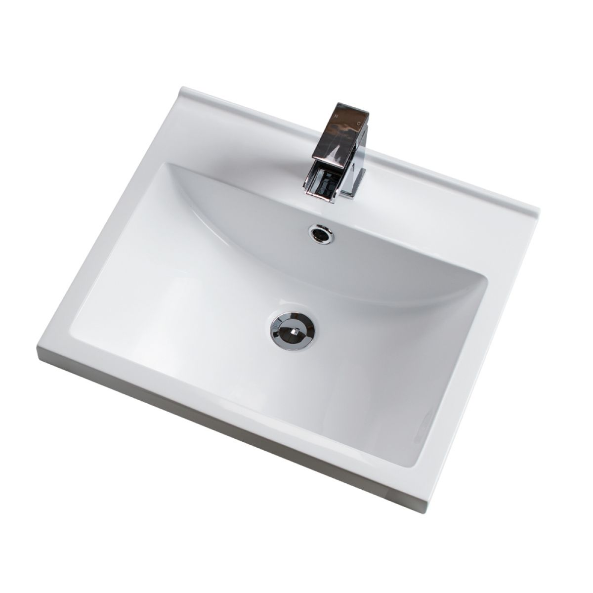 Cassellie Idon Polymarble Mid-Edge Basin 500mm