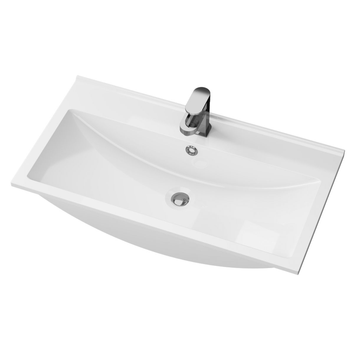 Cassellie Idon Polymarble Thin Edge Basin 800mm
