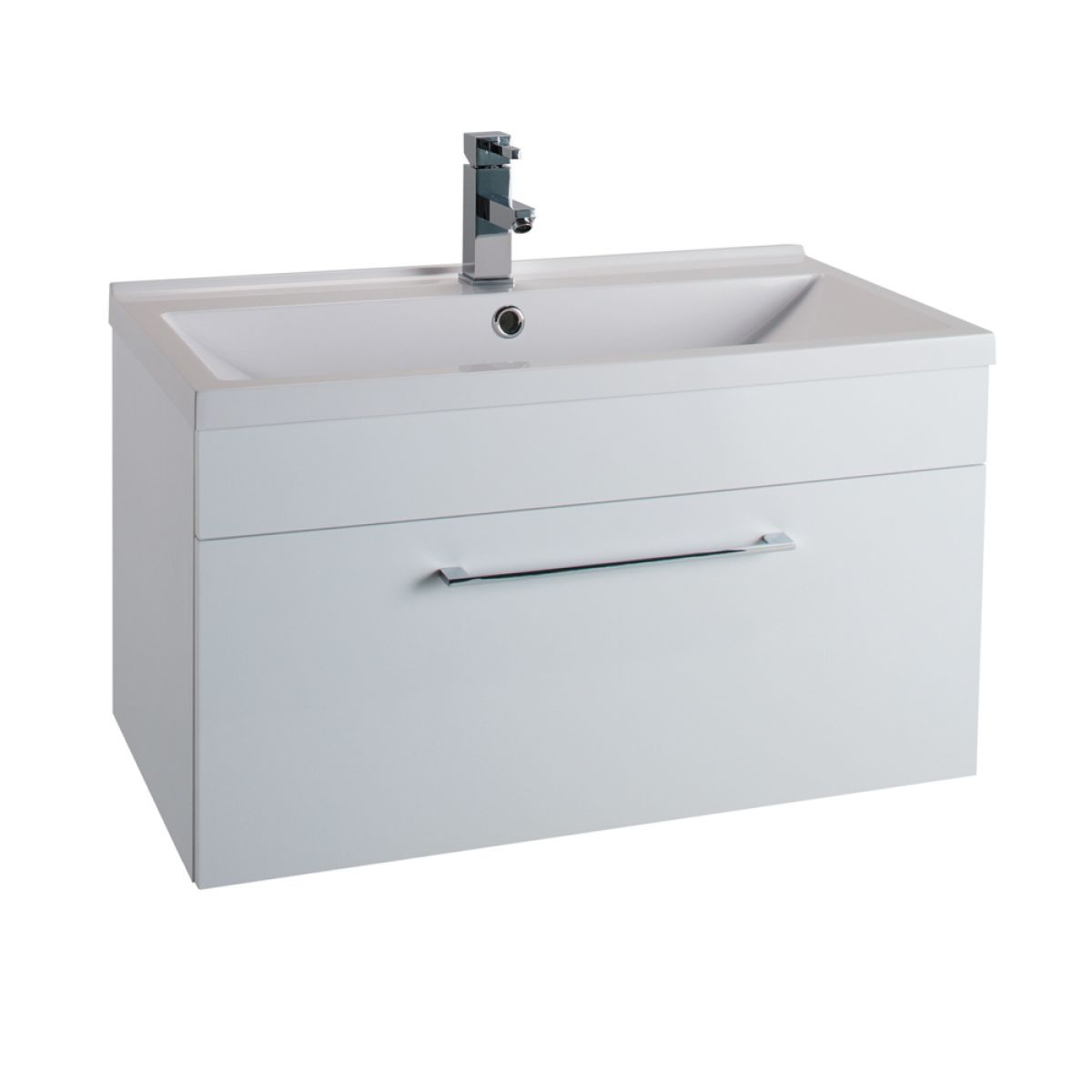 Cassellie Idon White Wall Hung Vanity Unit 800mm