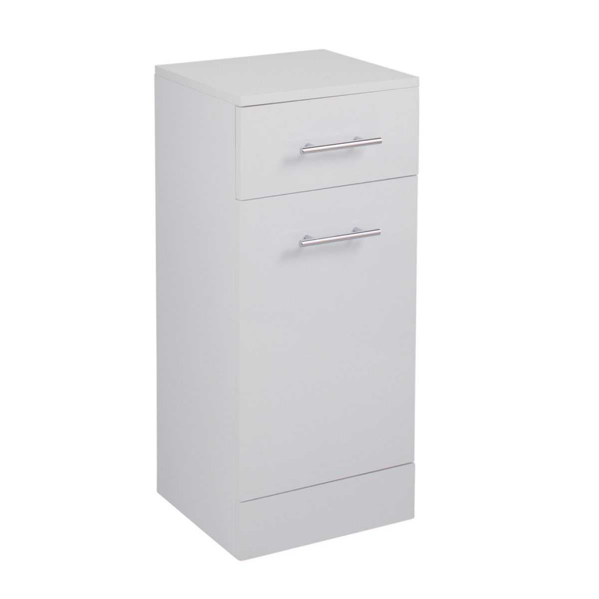Cassellie Kass Gloss White Laundry Unit 300mm