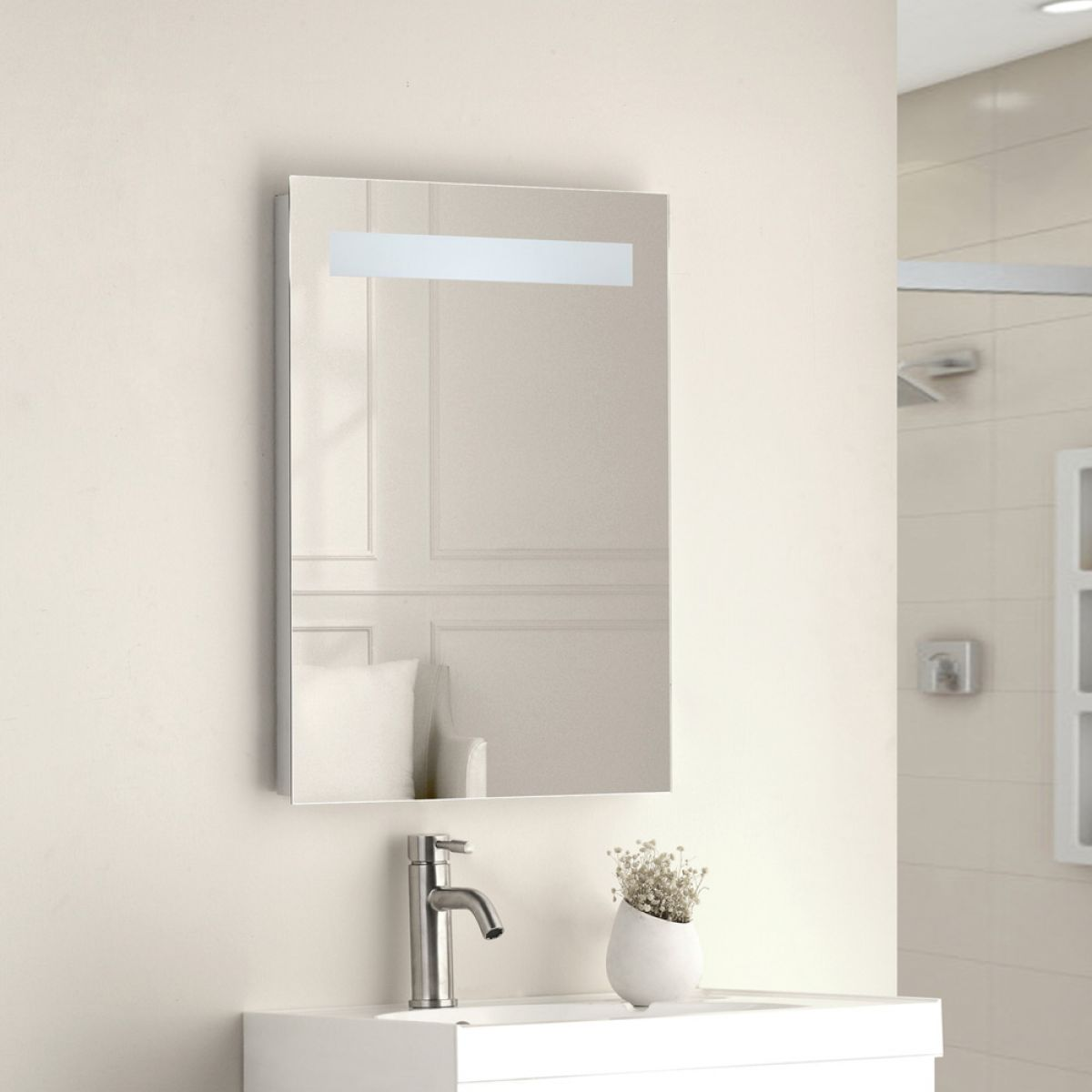 Cassellie Krypton LED Bathroom Mirror Lifestyle