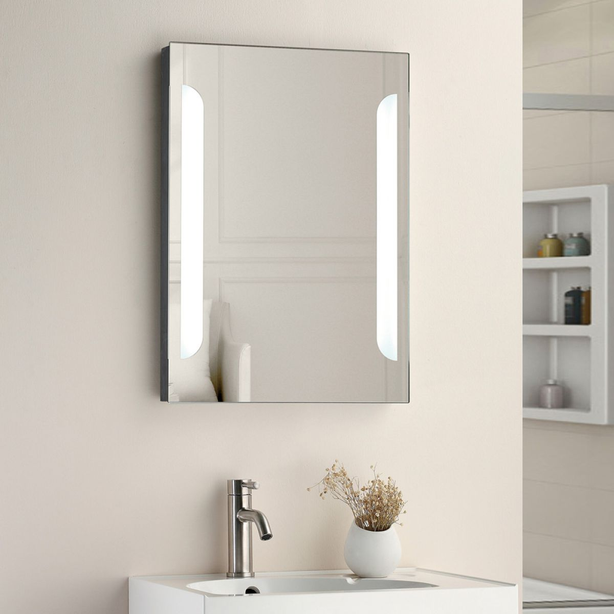 Cassellie Oxygen LED Bathroom Mirror Lifestyle