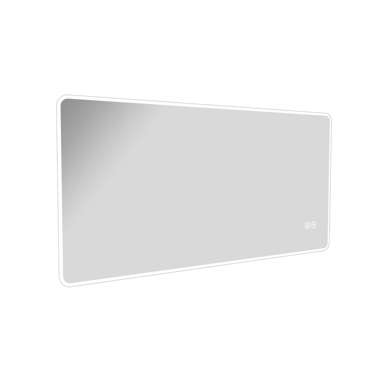 Cassellie Widestyle Ambient Illuminated LED Mirror