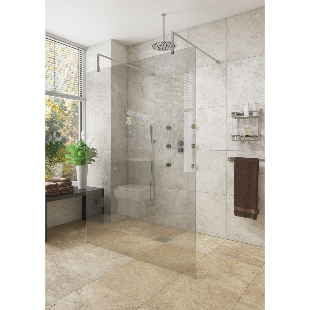 Cassellie Marna Wet Room Shower Enclosure