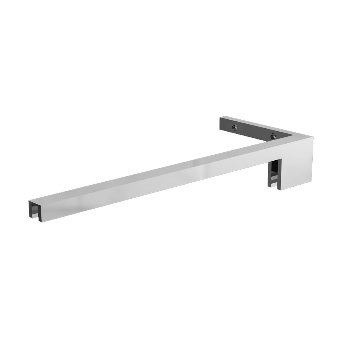 Cassellie Minimalist 8mm Wet Room Stabilising Bar Right Hand