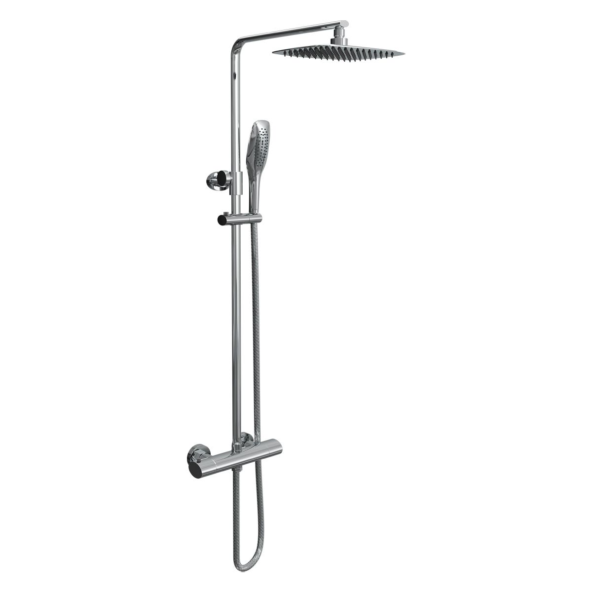 Cassellie Oval Thermostatic Shower Kit