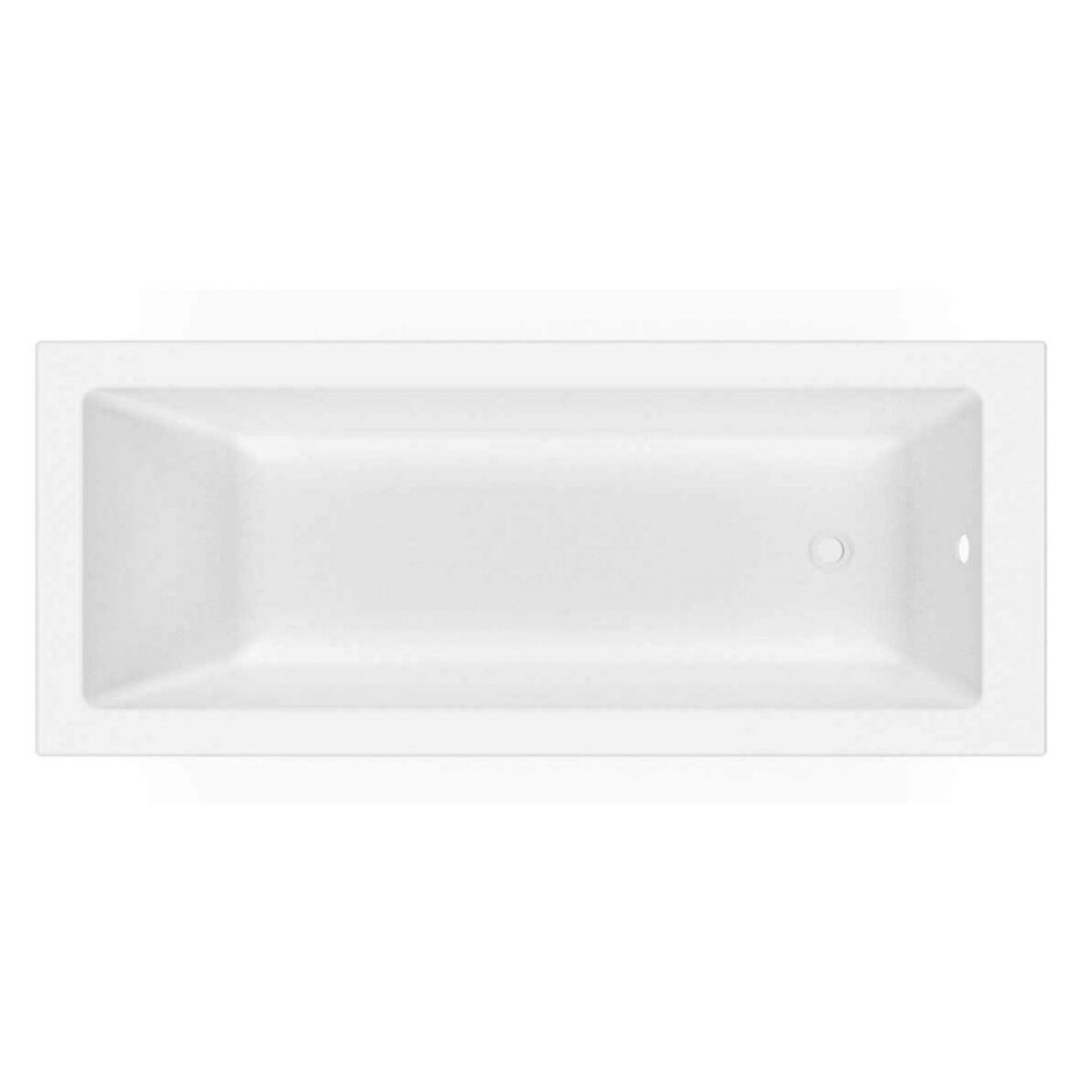 Cassellie Straight Single End Square Pool Bath 1700mm