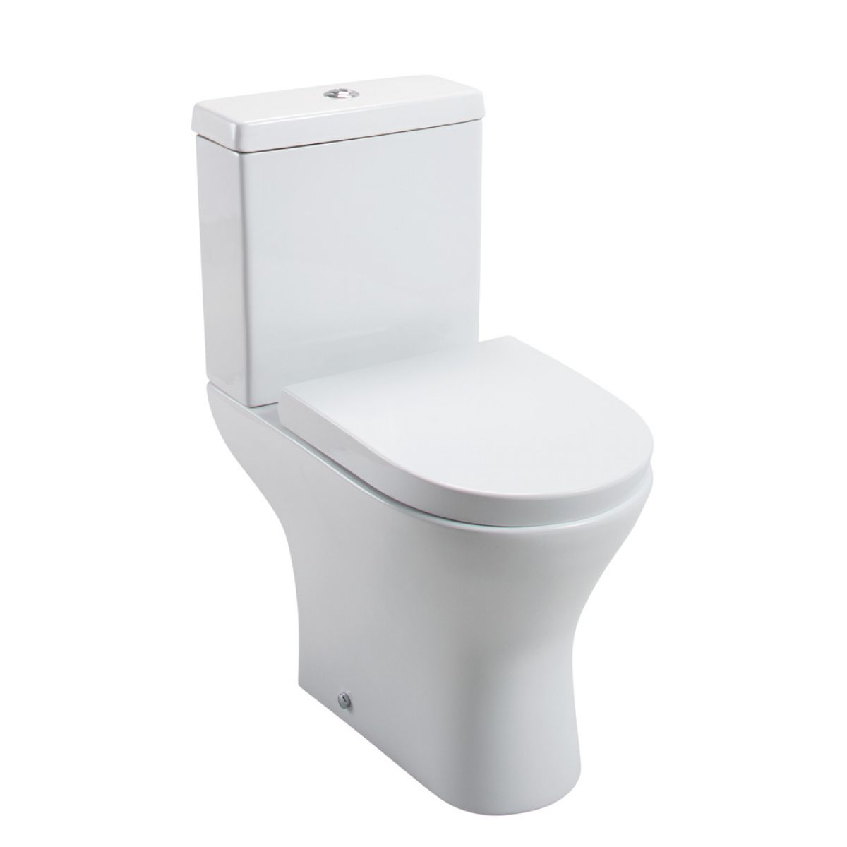 Cassellie Spek Close Coupled Toilet Wrapover Seat