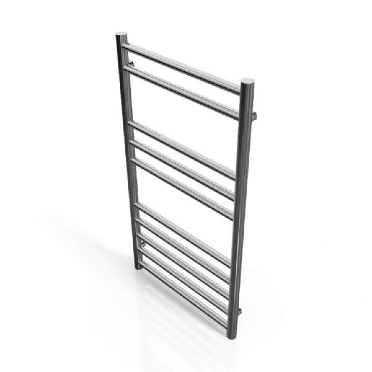 Cassellie Stainless Steel Straight Heated Towel Rail 800 x 450mm