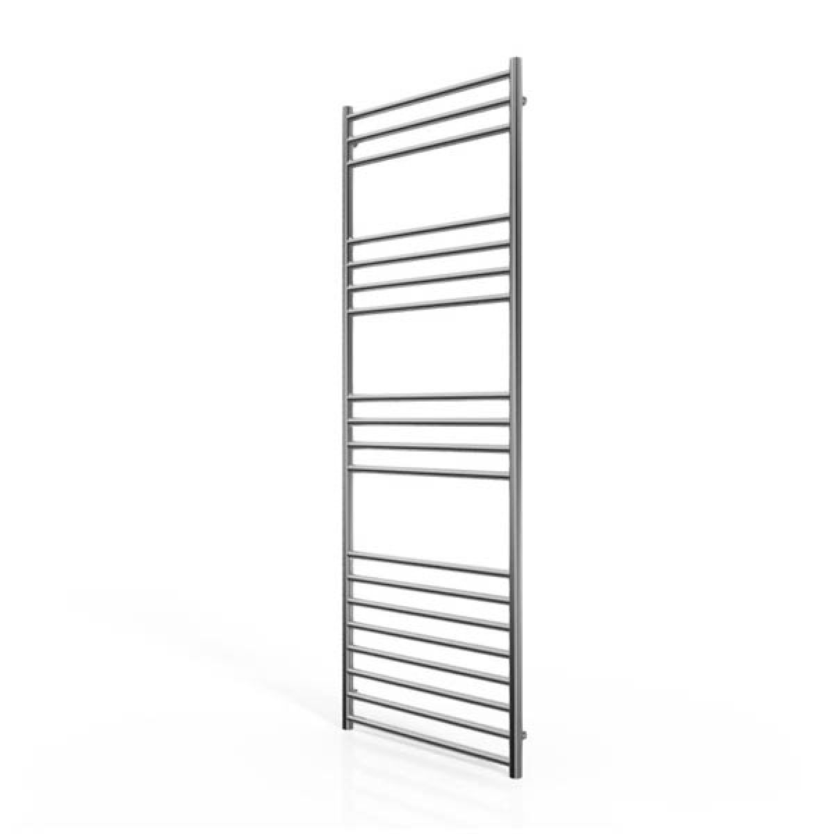 Cassellie Stainless Steel Straight Heated Towel Rail 1600 x 600mm