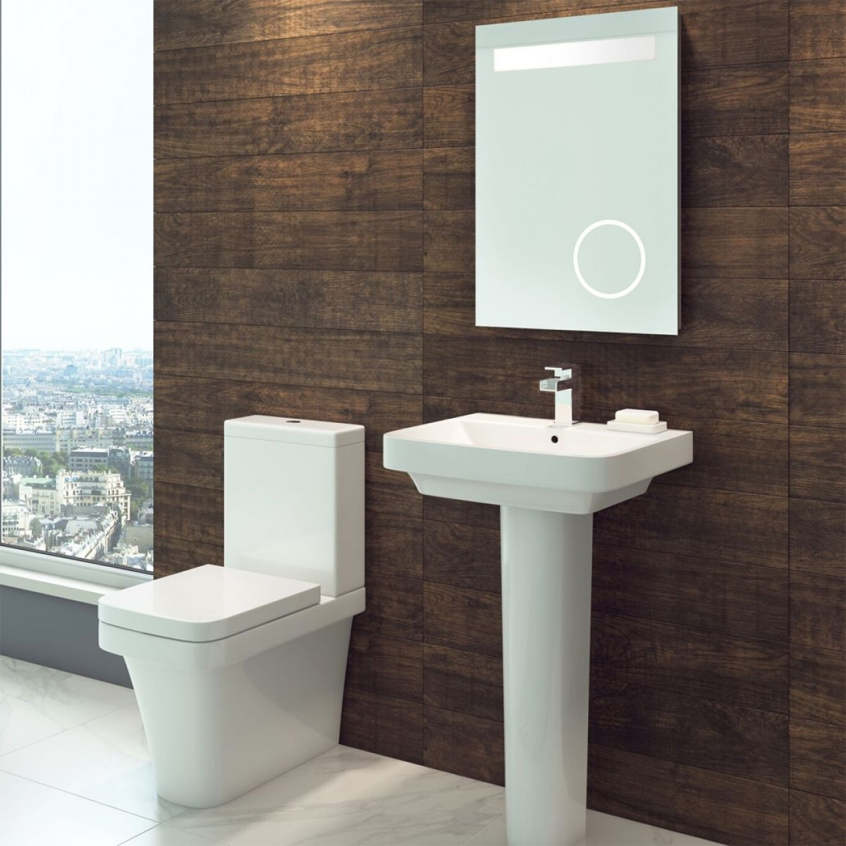 Cassellie Rivelin Close Coupled Toilet Lifestyle