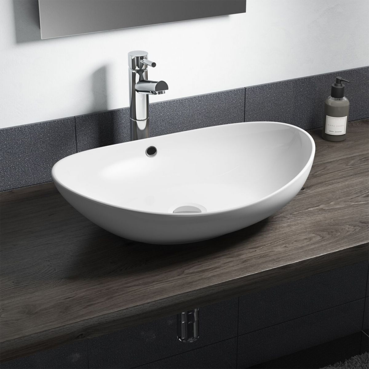 Cassellie Oval Countertop Basin 580mm