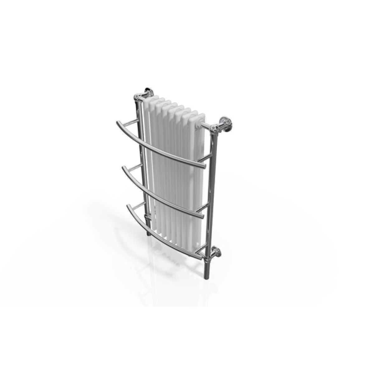 Cassellie Traditional Radiator with Towel Rail 630 x 1000mm