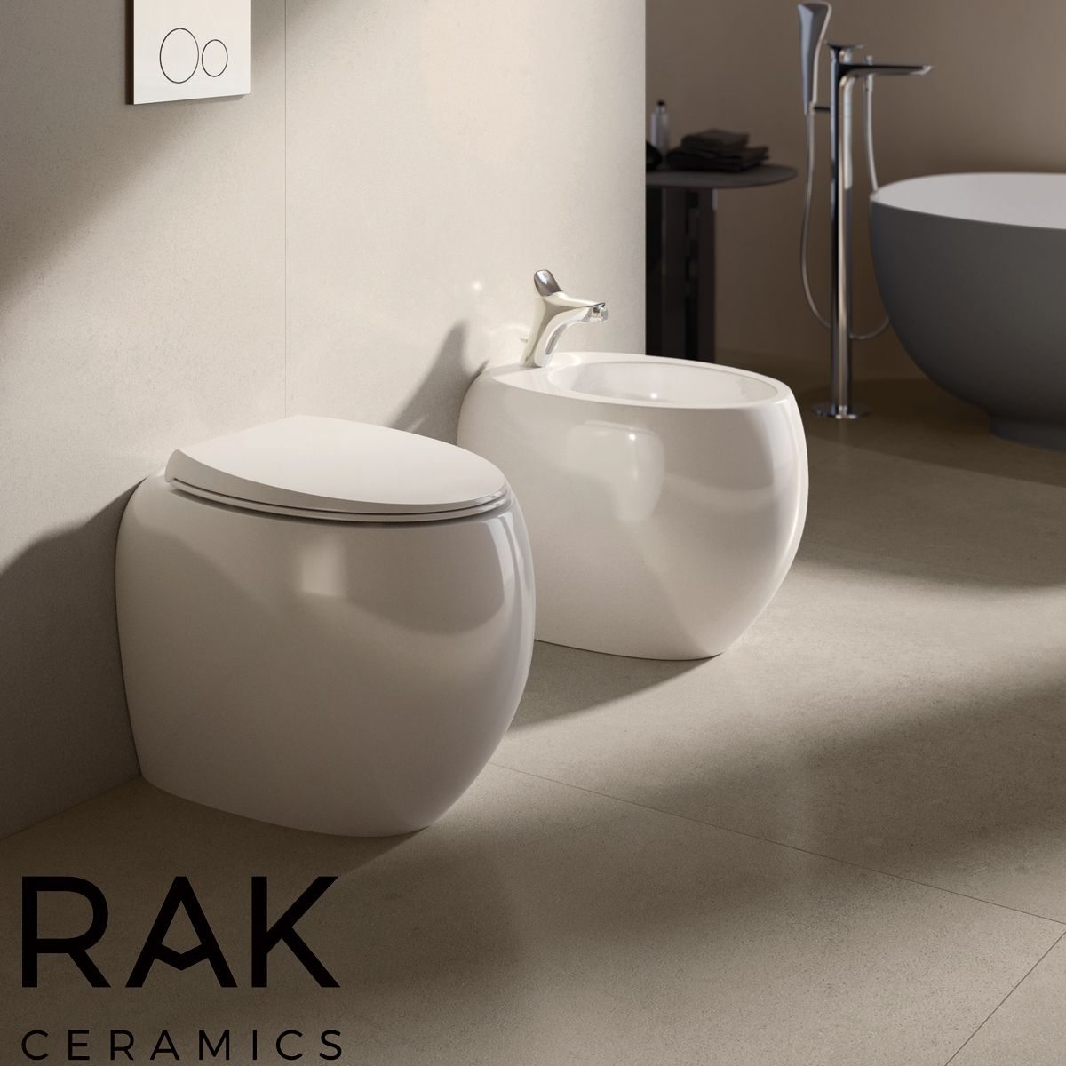 RAK Cloud Matt White Suite Lifestyle