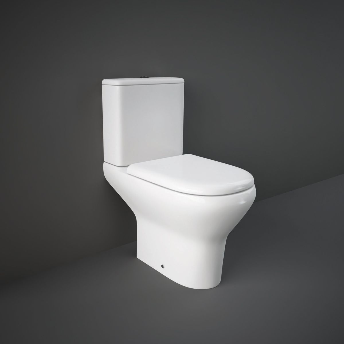 RAK Compact Comfort Height Full Access Toilet