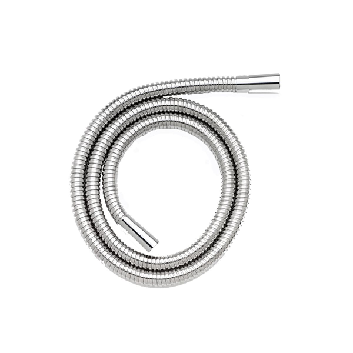 Croydex 1500mm Reinforced Stainless Steel Shower Hose With 11mm Bore Chrome